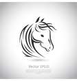 sign Horse logo vector image vector image
