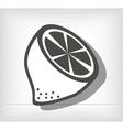 vegetarian food design vector image