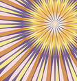 Abstract Colorful Rays Background vector image vector image