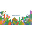 abstract summer background with copy space for vector image