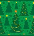 christmas seamless background 5 vector image