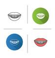 dental braces icon vector image vector image