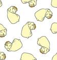 English bulldog pattern seamless vector image vector image