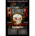 Halloween Poster Background vector image vector image