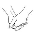 Homosexual couple vector image vector image
