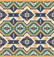 native southwest american aztec navajo seamless vector image