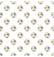Soccer ball pattern cartoon style vector image