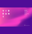 vibrant gradient background vector image
