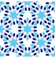 zellige tile seamless moorish patern vector image