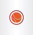 abstract basketball symbol design vector image
