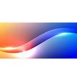 abstract background fluid gradient vibrant color vector image vector image