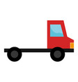 delivery truck vehicle icon vector image vector image