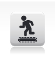 exercise machine icon vector image vector image