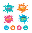 notebook pc and usb flash drive stick icons vector image