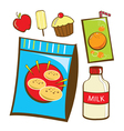 Snack Food vector image