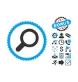 View Flat Icon with Bonus vector image vector image