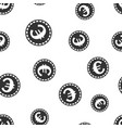 euro coins money seamless pattern background icon vector image vector image