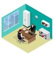Job interview Job applicants Concept of hiring vector image