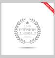 premium choice icon vector image vector image