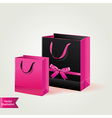 Shopping bags isolated vector image vector image
