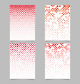 square pattern brochure template - mosaic tile vector image vector image