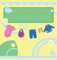 bashower card vector image vector image