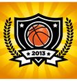 Basketball Logo Emblem vector image vector image