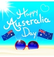 Happy Australia day letters vector image vector image