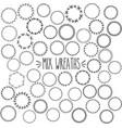 mix wreath vector image vector image