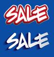 Sale Paper Folding Design vector image vector image