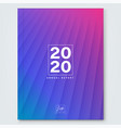 abstract gradient magenta blue background vector image