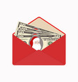 bill one hundred dollars with santa claus in open
