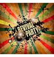 Club party flyer vector image vector image