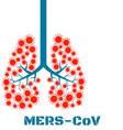Mers virus respiratory pathogens vector image vector image