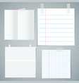 note paper sheet vector image vector image