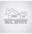Real estate design icon