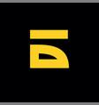 russian b logo vector image vector image