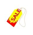 Sale tag icon cartoon style vector image vector image