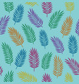 bright colorful seamless decorative pattern with vector image vector image