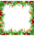 christmas border greetings card image vector image vector image