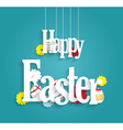 Easter design vector image