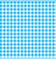 firebrick gingham pattern textured blue and white vector image vector image
