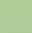 knitted green pattern vector image vector image