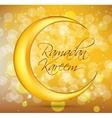 Ramadan Kareem Background Design vector image vector image