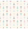 Seamless pattern of anchor shapes Endless texture vector image