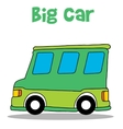 Big car of art vector image vector image