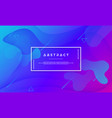 blue purple abstract background vector image vector image