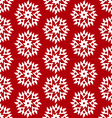 christmas red seamless vector image vector image