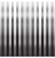 Halftone Dots Pattern Gradient Background vector image vector image