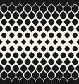 monochrome pattern with halftone transition mesh vector image vector image